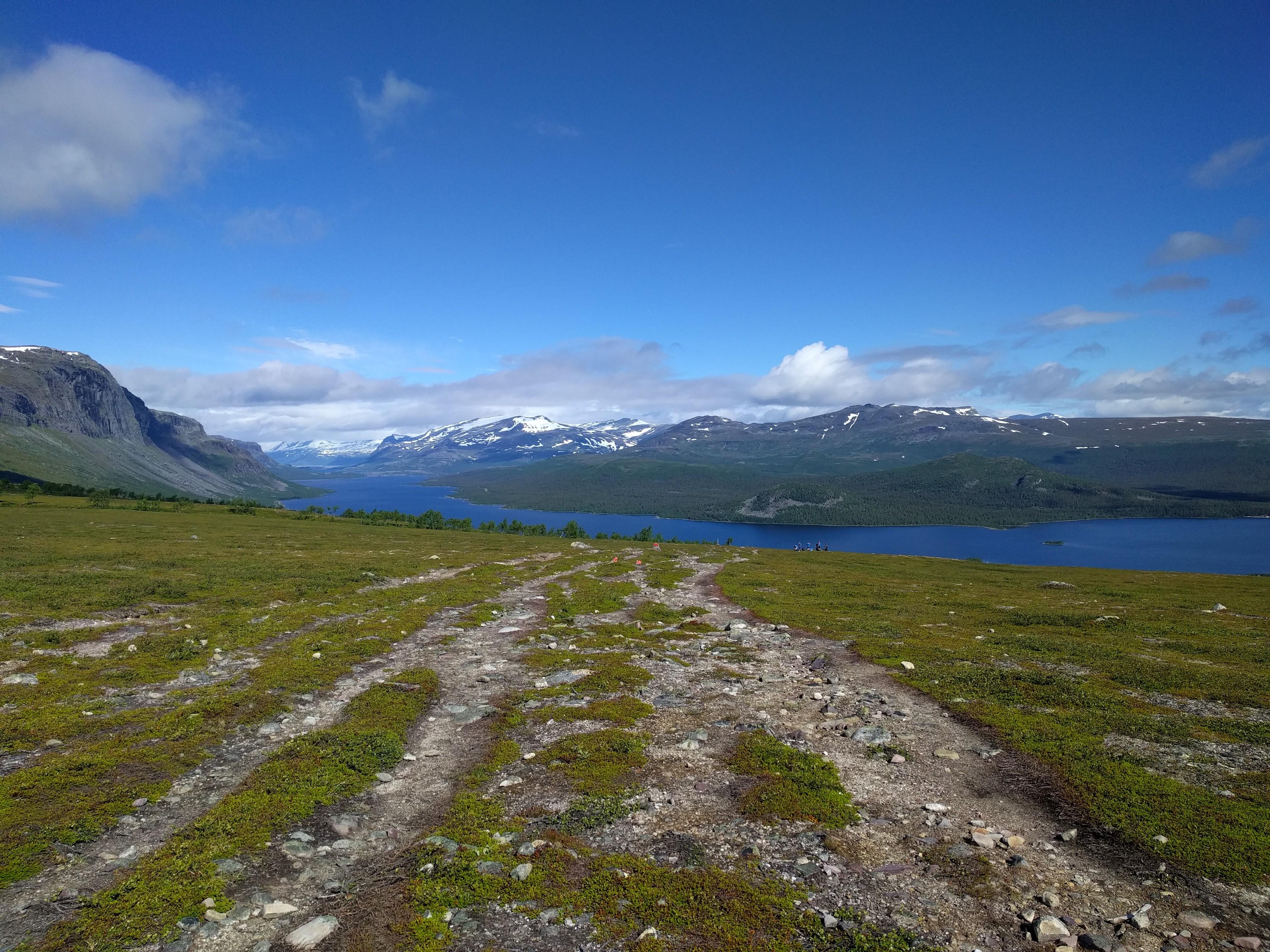 Kungsleden south of Saltoluokta