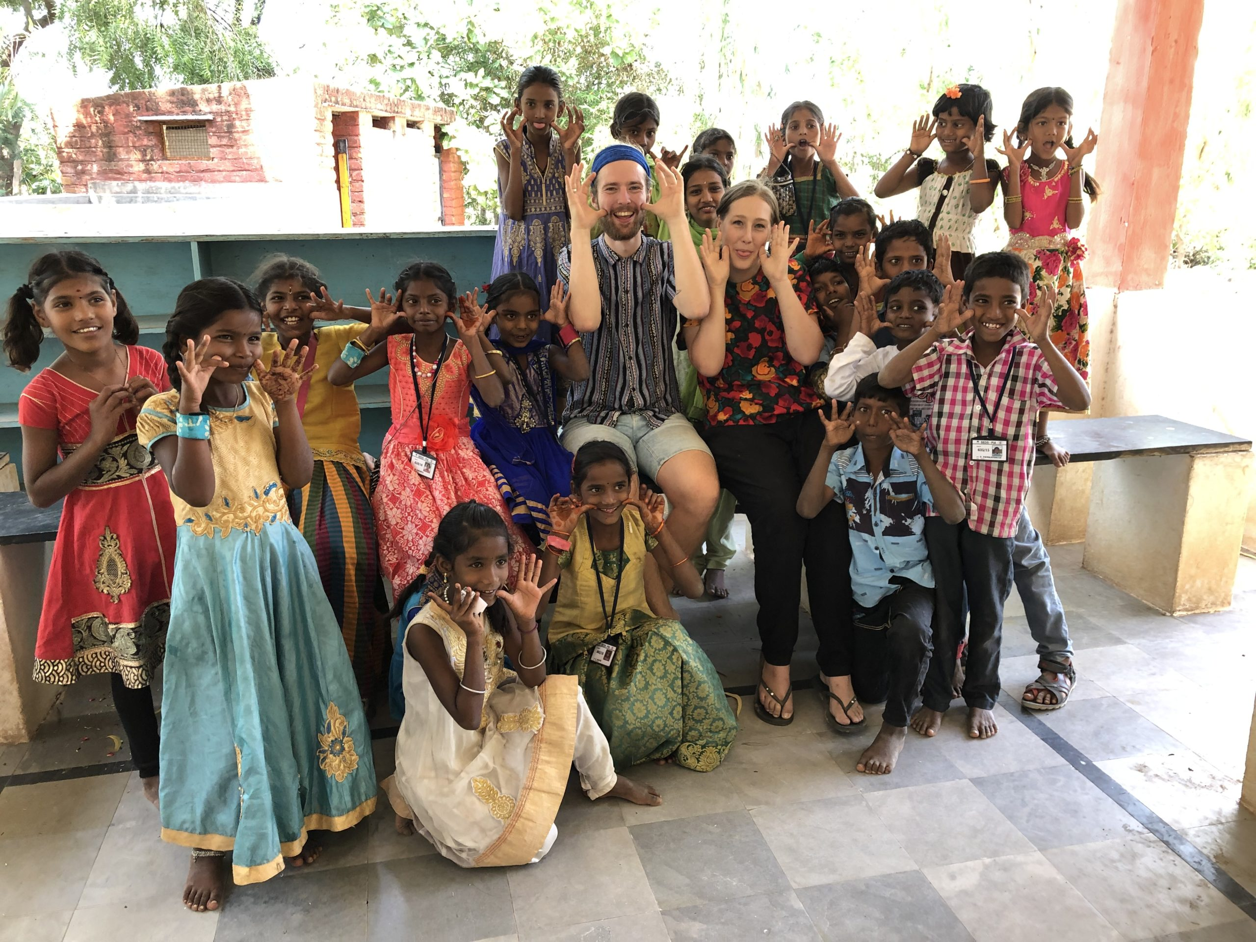India – Week 5: Kids, kids and sponsored kids